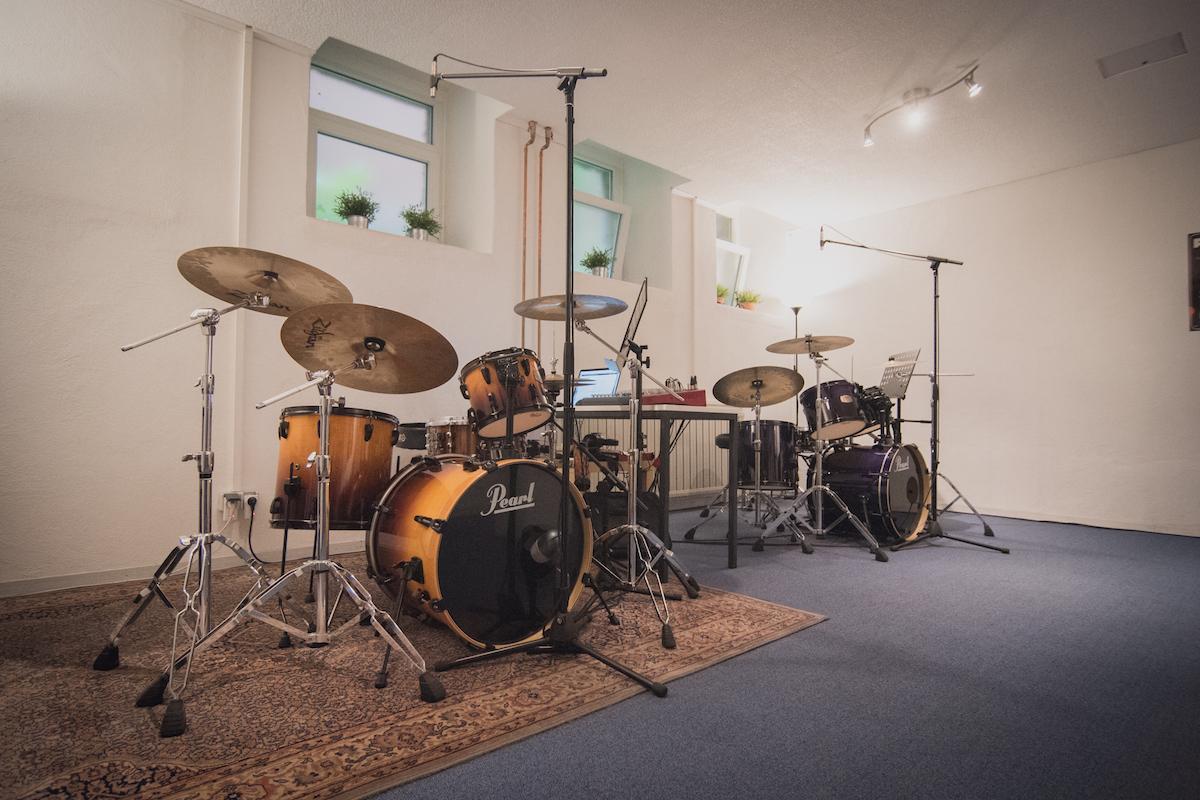 Schlagzeugspielen: Probestunde - Das sind unsere Schlagzeuge